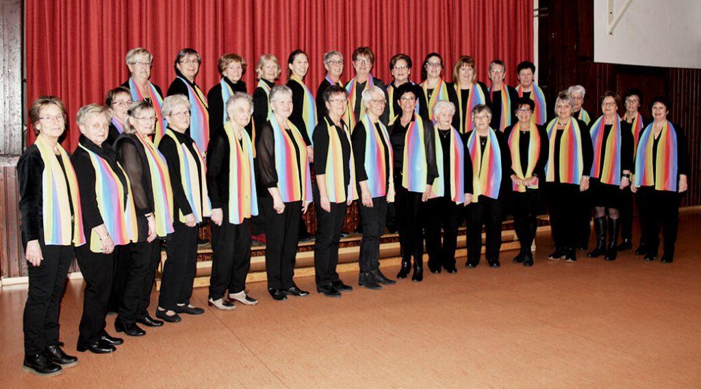 Gruppenfoto vom Frauenchor Göttingerode.
